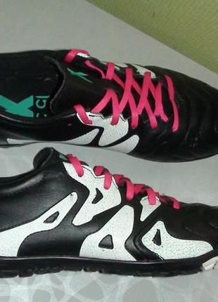Adidas x15.3 - шкіряні футзалки-сороканіжки. р- 42 2/3 (27см)