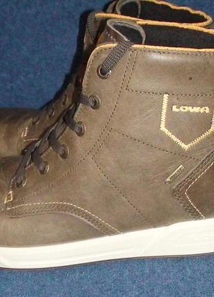 Lowa london gtx mid - шкіряні зимові черевики. р- 41 (26.2см)