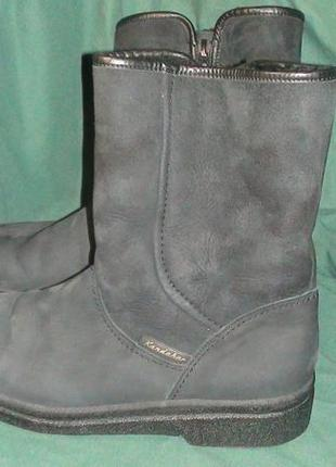 Kandahar - зимові шкіряні чоботи. р- 43 (28см)