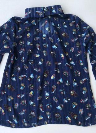Блуза с совами nolvit