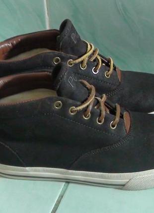Polo - шкіряні кросівки-черевики. р- 41 (26.5см)