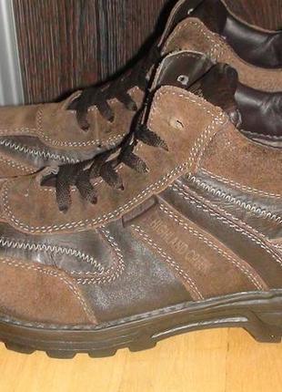 Higland creek - зимові шкіряні черевики. р- 43 (28см)