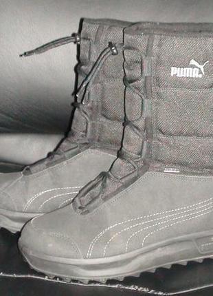 Puma - зимові черевики-чоботи. р- 39