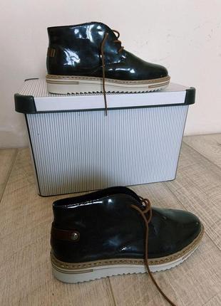 Шикарные ботинки полуботинки полусапоги rieker