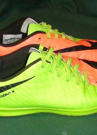 Nike hypervenon x - футзалки. р- 36.5 (23.5см)