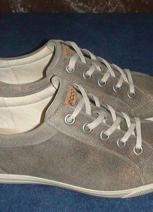 Ecco - шкіряні кеди-кросівки