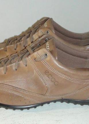 Ecco - шкіряні кросівки
