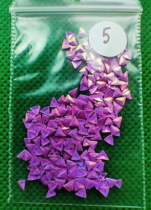 Сиреневый камифубики для дизайна ногтей