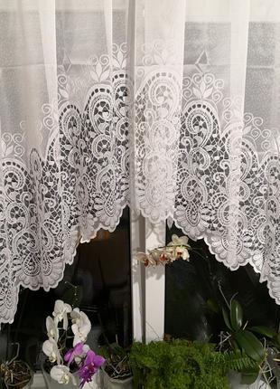 Занавеска штора тюль арка