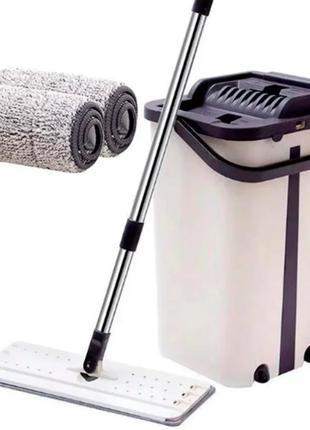 Швабра и ведро Scratch Cleaning Mop с системой отжима
