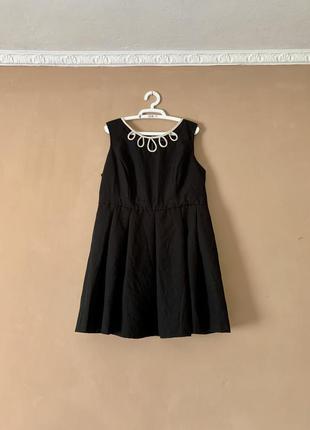 Чёрное платье большой размер красивое