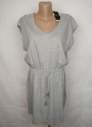 Платье новое трикотажное стильное papaya uk 14/42/l