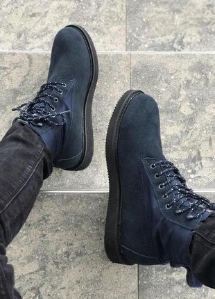 Ботинки timberland blue