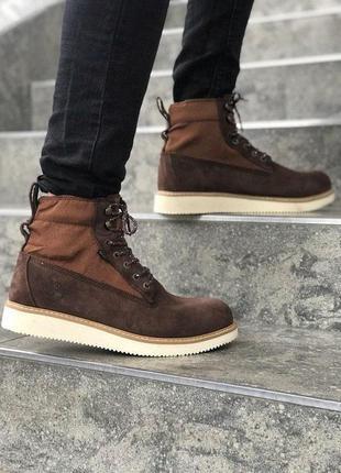 Ботинки timberland brown