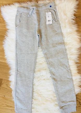 Новые спортивные штаны на байке, теплые серые спортивные штаны...