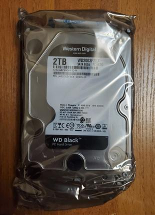 """HDD 3.5"""" Western Digital WD Black 2tb, WD2003FZEX (жёсткий диск)"""
