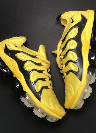 Nike vapormax tn yellow black