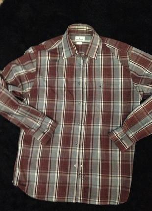 Классная мужская рубашка tom tailor