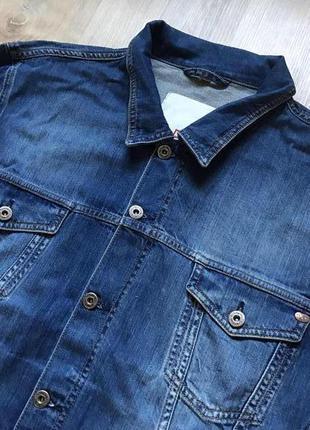 Мужская джинсовая куртка mustang