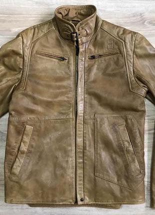 Кожаная куртка g-star raw премиум