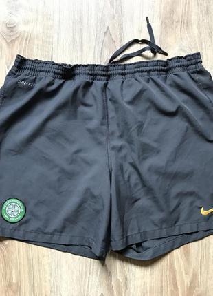 Мужские спортивные шорты nike l fc celtic
