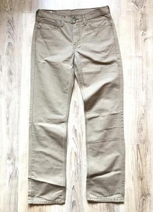 Мужские брюки levis 514 32/34 штаны