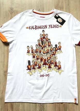 Мужская хлопковая футболка fc galatasaray