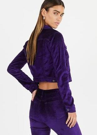 Тренд сезона! бархатная курточка ветровка пиджак black widow r...