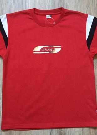 Мужская хлопковая футболка puma xs