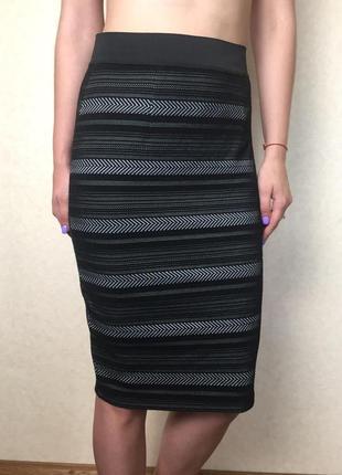 Стильная юбка карандаш миди от dunnes