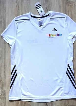 Мужская беговая футболка adidas l