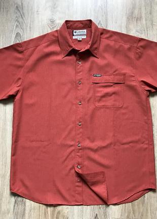 Мужская трекинговая рубашка columbia xl