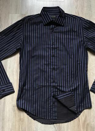Мужская рубашка с длинным рукавом в полоску zara man m