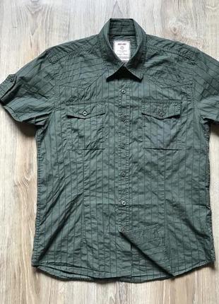Мужская рубашка с коротким рукавом jack & jones s