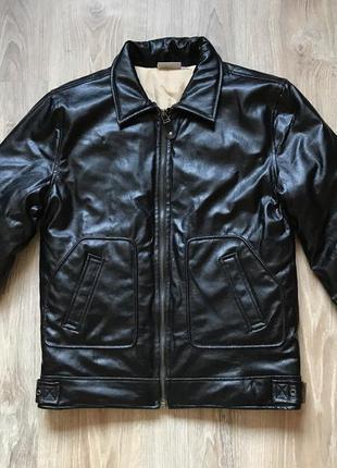 Мужская кожаная куртка yell m