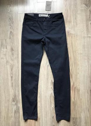 Мужские стрейчевые джинсы new look 32/32 skinny stretchw