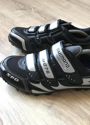Велосипедная обувь shimano sh-m076 горный велосипед