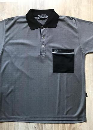 Мужская поло футболка versace