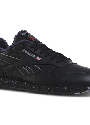 Мужские кроссовки reebok classic leather low sherpa dv5179