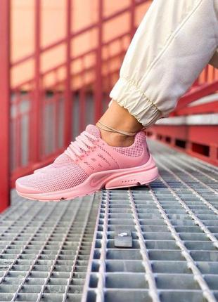 """Шикарные женские кроссовки 🔥 nike air presto  """" all pink """""""