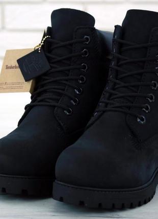 Ботинки timberland black