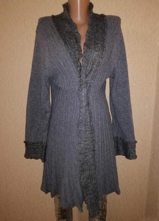 Красивая, теплая женская кофта, кардиган18 р. marks & spencer