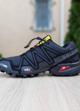 Утепленные Кроссовки Ботинки Salomon Speedcross III РЕФЛЕКТИВ