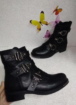 Ботинки эко кожа  40р.flyfor (флайфор)