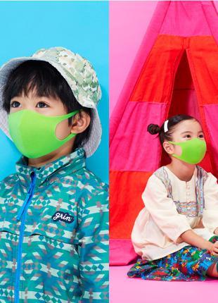 Детские многоразовые защитные маски pitta/питта. Оригинал
