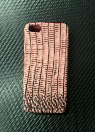 Чехол на iPhone 5/5se кожа