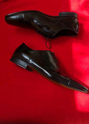 ❕Оригінальні туфлі HUGO BOSS Лакована шкіра❕