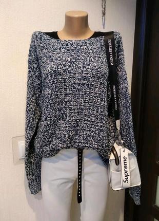 Стильный мягусенький джемпер свитер кофта пуловер
