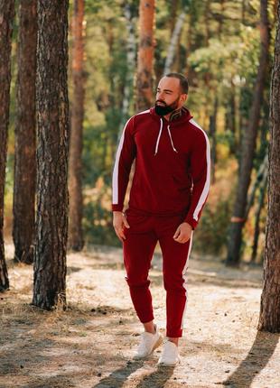 Мужской спортивный костюм Асос красный