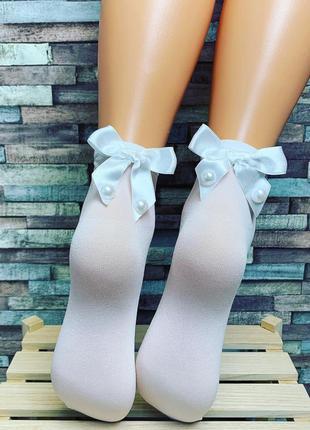 Капроновые носочки katamino c люрексом